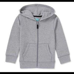 Hoodie Sweater w/zipper Toddler Boy (2T)